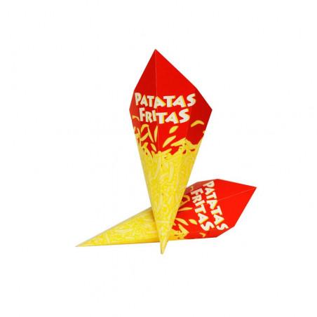 Cono Fritos Pequeño Cartón...