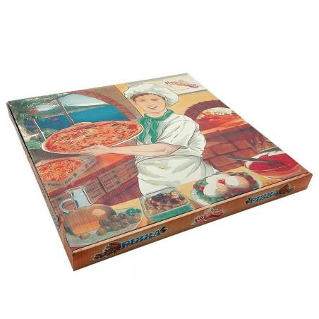 Caja Pizza 400x400x35mm