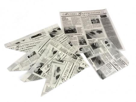 Papel Antigrasa Blanco News...