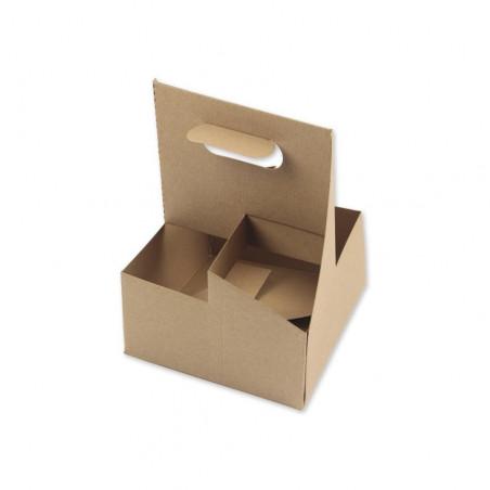 Portavasos Cartón Kraft 4...