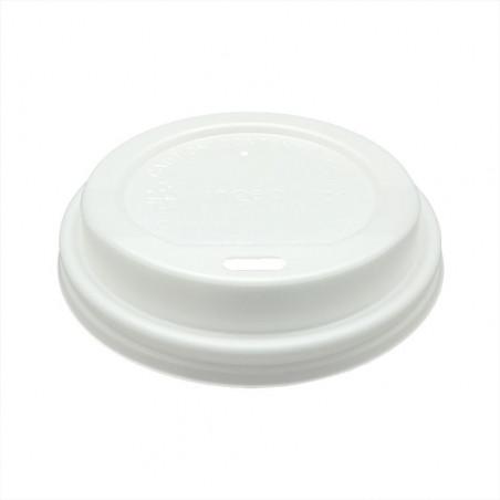 Tapa PLA Blanca para Vaso 80mm
