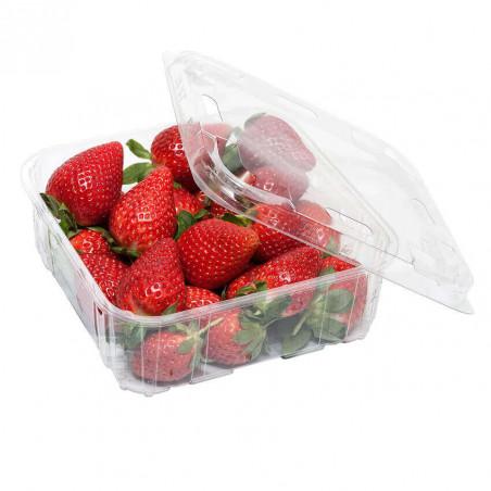 Envase Fresas rPET 1kg F60/75