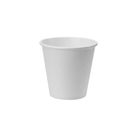 Vaso Cartón Color Blanco 200ml