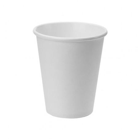 Vaso Cartón Color Blanco 240ml
