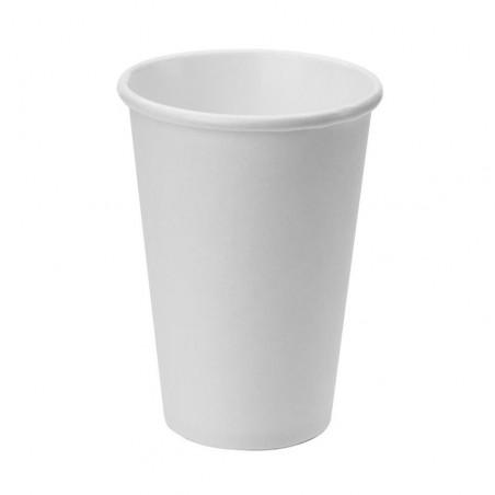 Vaso Cartón Color Blanco 473ml